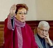 Maria De Berlanger's 'salute'