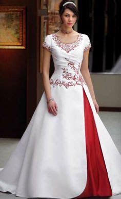 images  wedding dresses  red trim