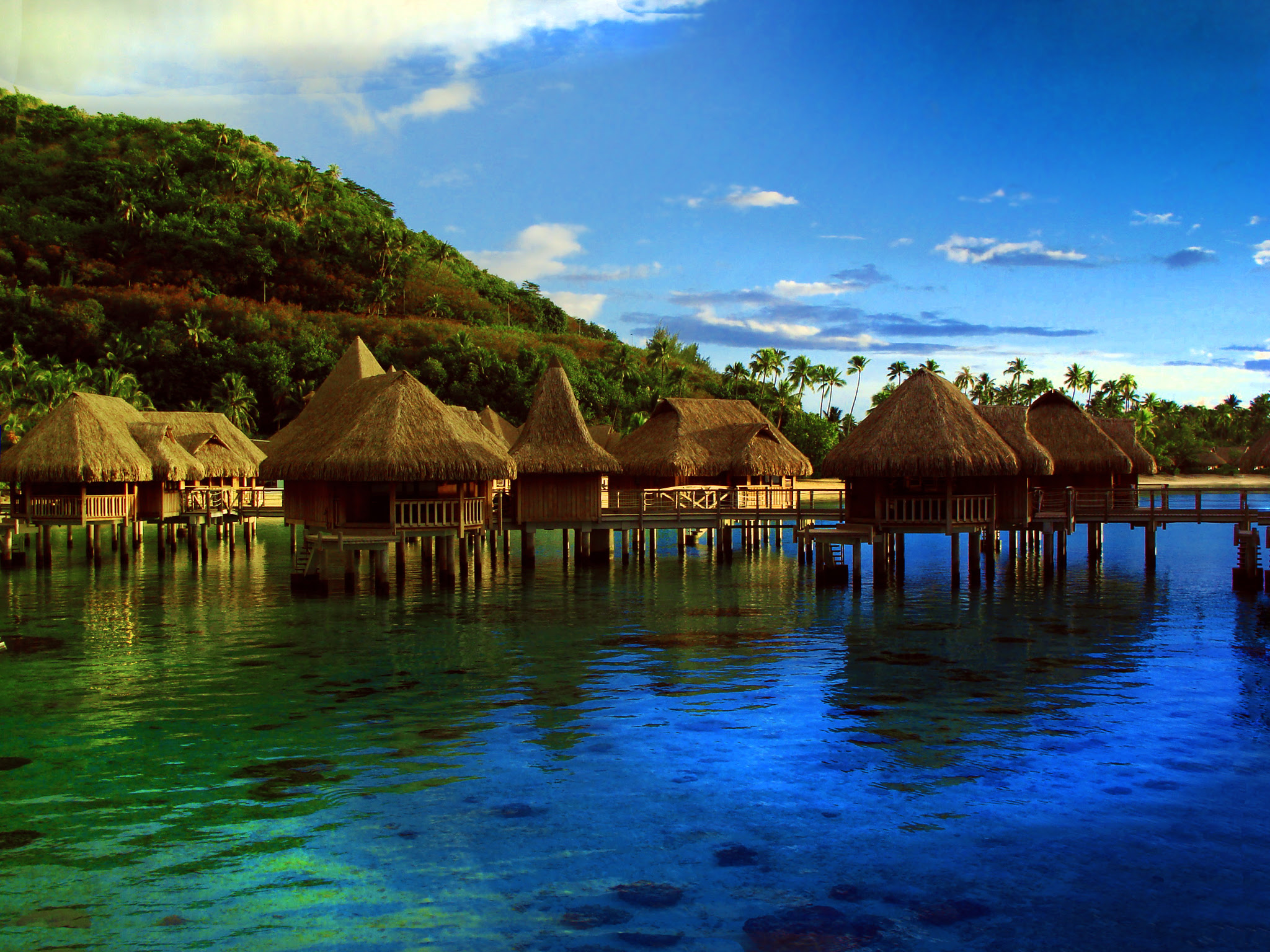 Moorea, French Polynesia   Beautiful Places to Visit