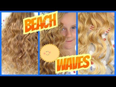 Beach Wavesleichte Wellen Haarband Lockenohne Wickler Ohne