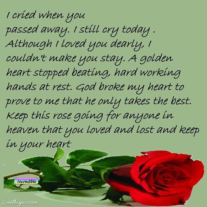 Quotes About Mom Who Passed Away 17 Quotes