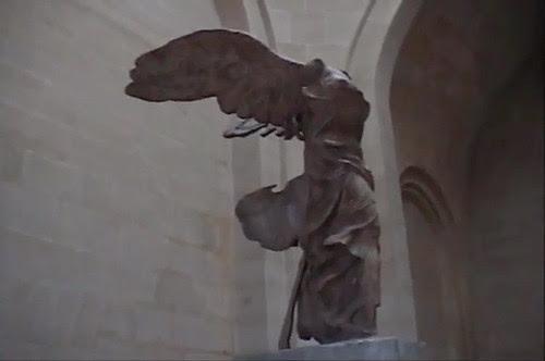 Winged Victory of Samothrace (Nike of Samothrace) at Louvre 1