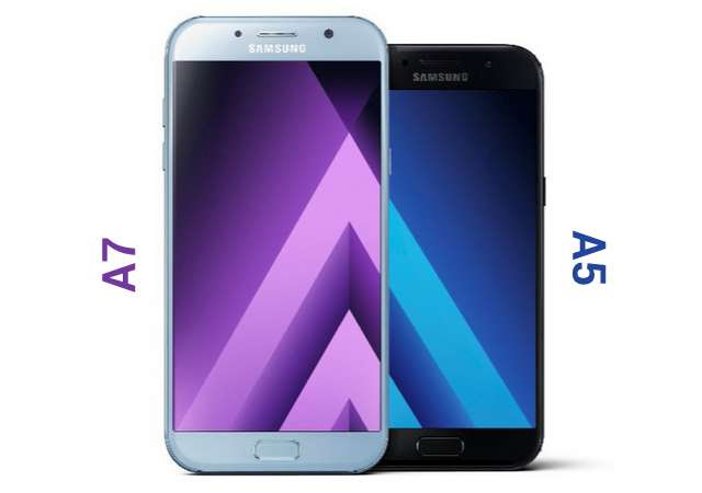 Galaxy A5 2017 and A7 2017