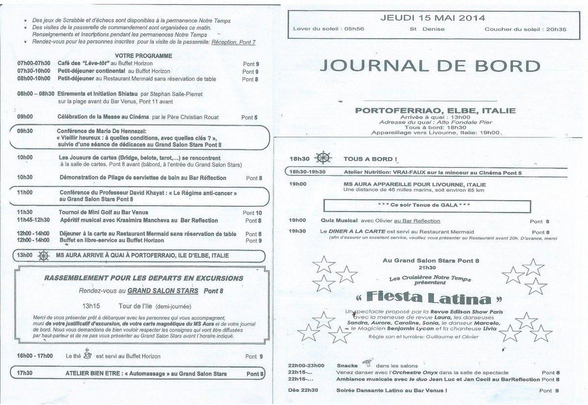 Exemple De Journal De Bord Bateau - Exemple de Groupes