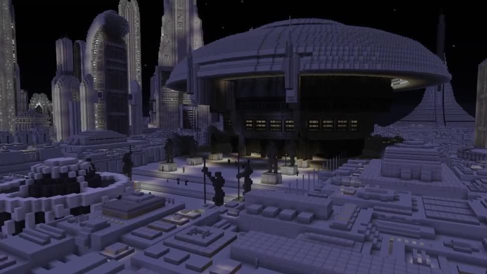 Fan baut Star Wars in Minecraft nach - und zwar die ganze Galaxis