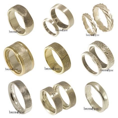 Get Your Stylish, Meaningful Wedding Band from Brent & Jess