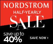 NORDSTROM Half-Yearly Sale for Women & Kids - save on apparel, shoes, accessories and more!