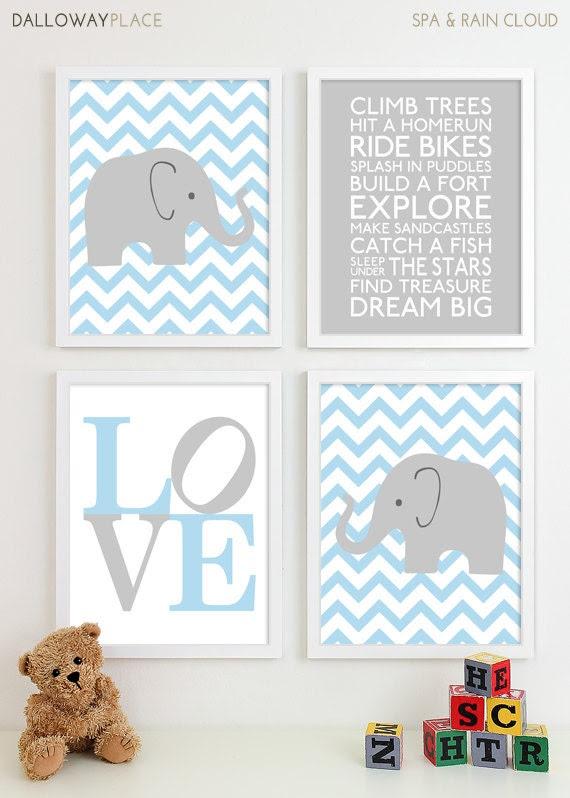 Nursery Wall Decor For Boys Baby Interior Design