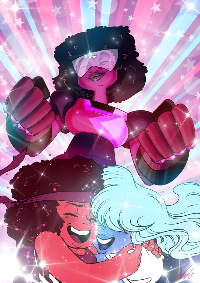 I finally caught up on Steven Universe recently, and I was hit with the desire to draw two… um four?… of my favourite gems. Steven Universe has so many likeable characters, and I really do love all of...