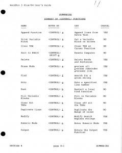 Comandos - página1
