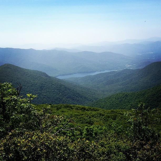 Craggy Pinnancle Blue Ridge Mountains