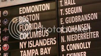NHL Entry Draft Board