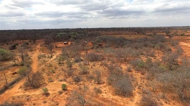 Idle and arid land