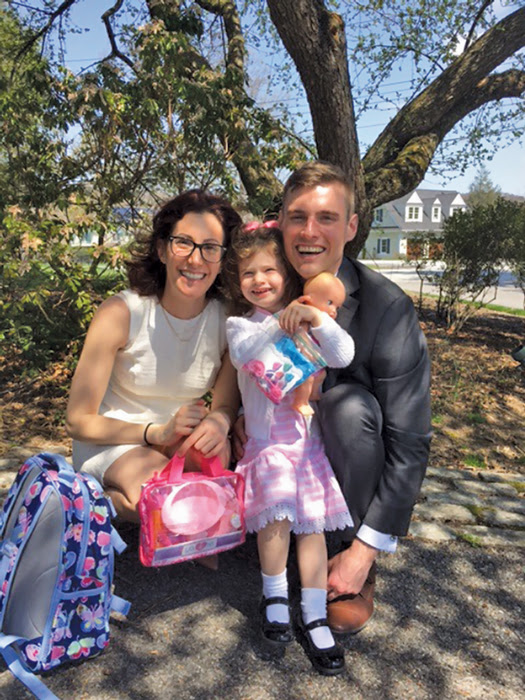Jena Booher e família