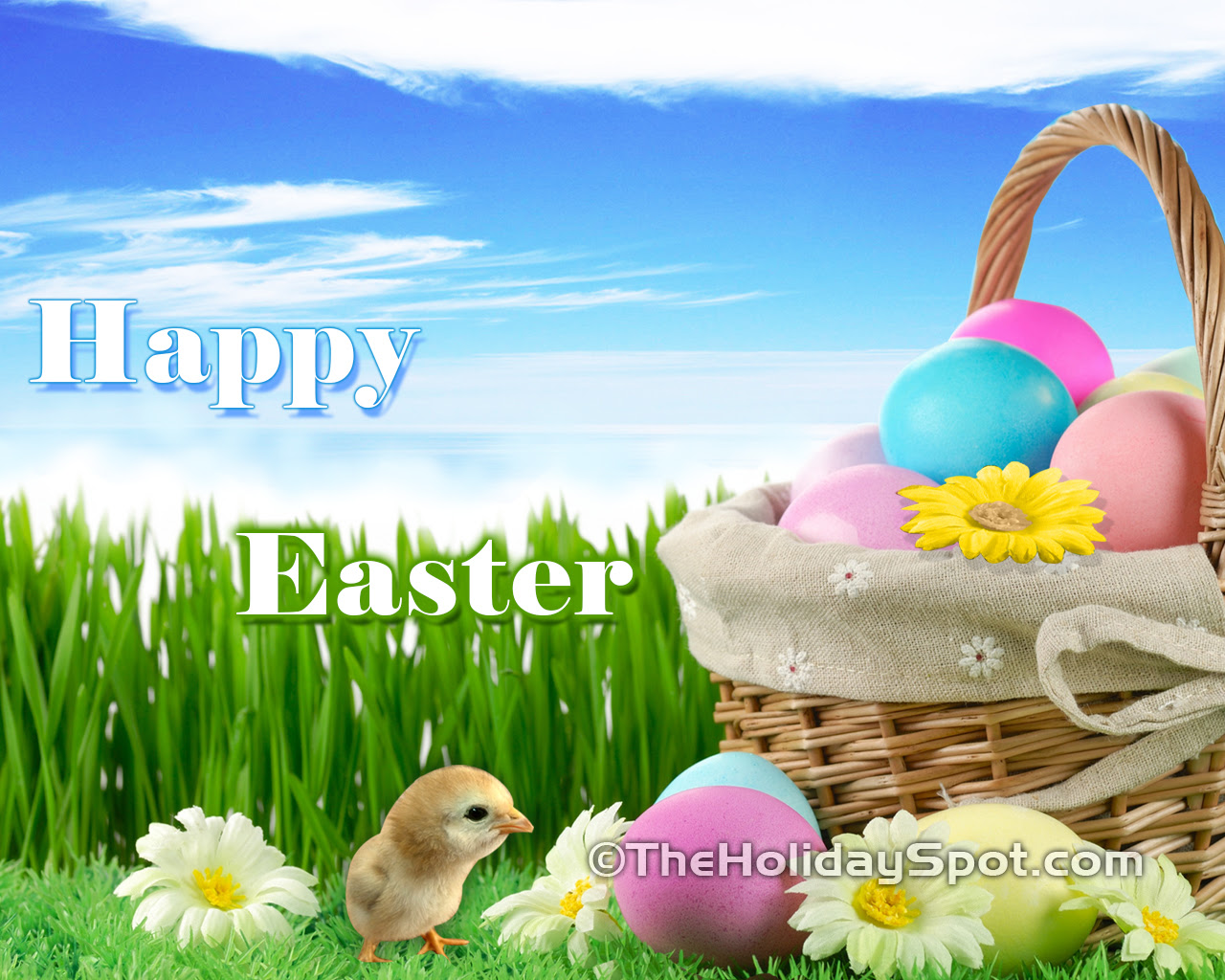 Easter wallpapers from TheHolidaySpot