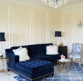 Beautiful 10 Velvet Sofa Living Room Images