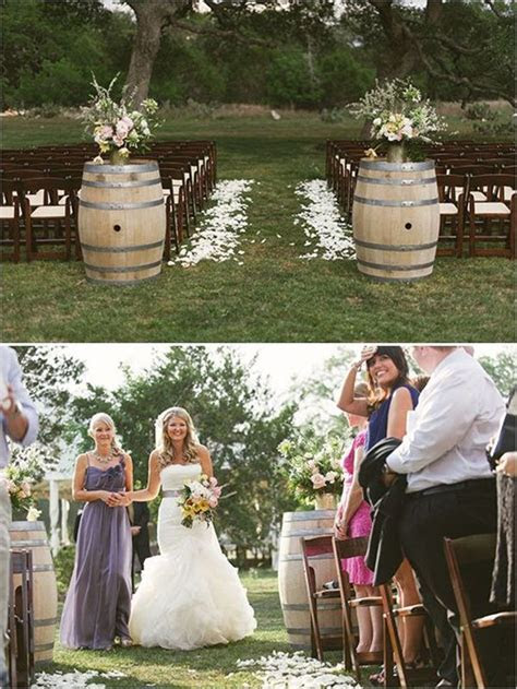 Country Wedding Ideas: 20 Ways to Use Wine Barrels