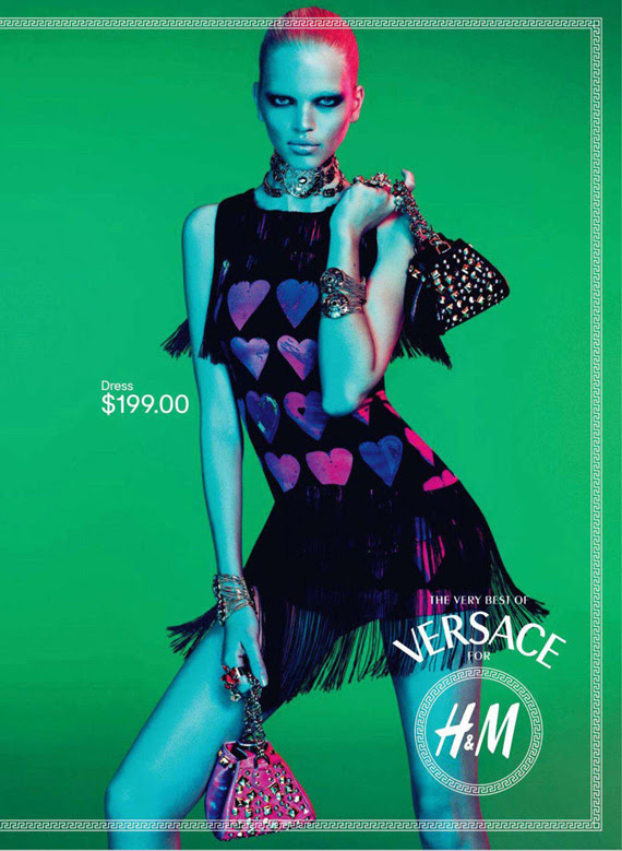 Versace for H&M – Ad Campaign + Lookbook Preview #2