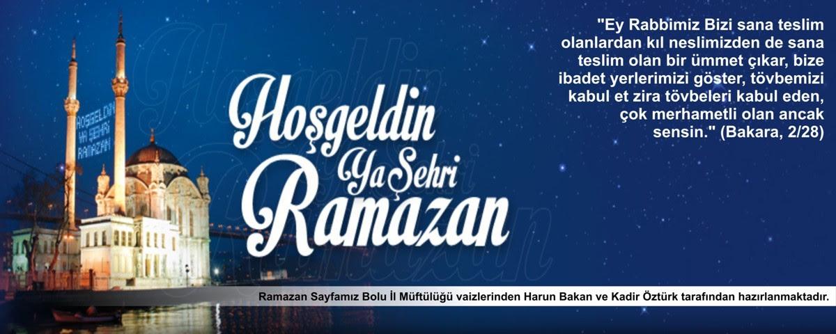 Bolu Ekspres Ramazan Sohbetleri