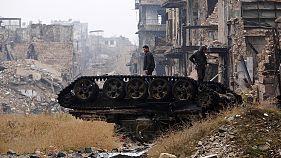 Συμφωνία αποχώρησης των ανταρτών από το ανατολικό Χαλέπι