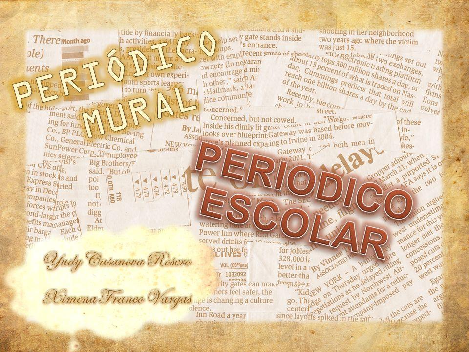 Periodico Mural Periodico Escolar Yudy Casanova Rosero Ppt Video
