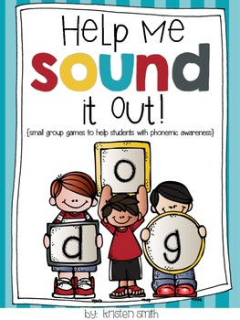 Help Me Sound It Out- {small group games that help with ph
