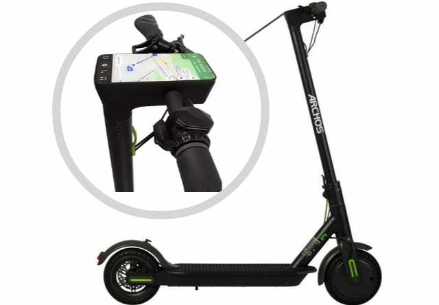 ARCHOS New Electric Scooter Is Fully Powered By Google's Android OS, Supports WiFi and 3G