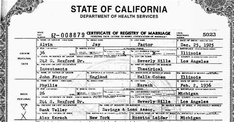 California Marriage License Available Online