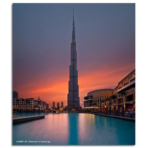 It was once called Burj Dubai...