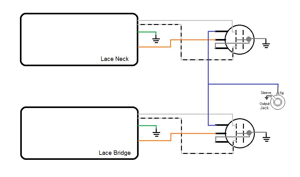 Lace Pickup Wiring