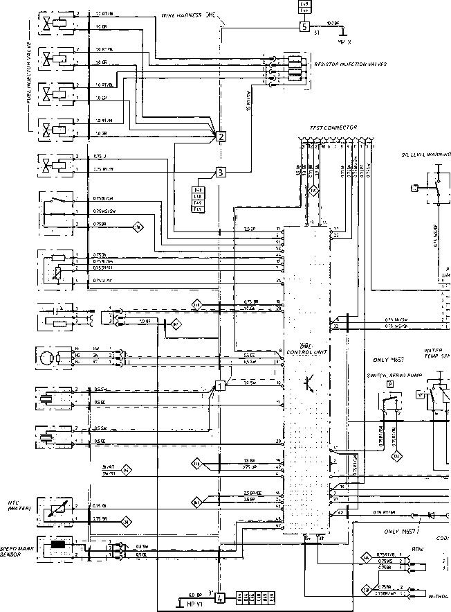 Wiring Diagram Type 944 S Model 87 Sheet - Porsche 944 ...