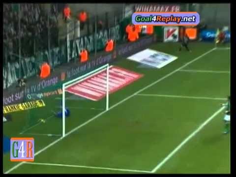 Saint Etienne - Nizza 0-2 Gol dalla linea laterale