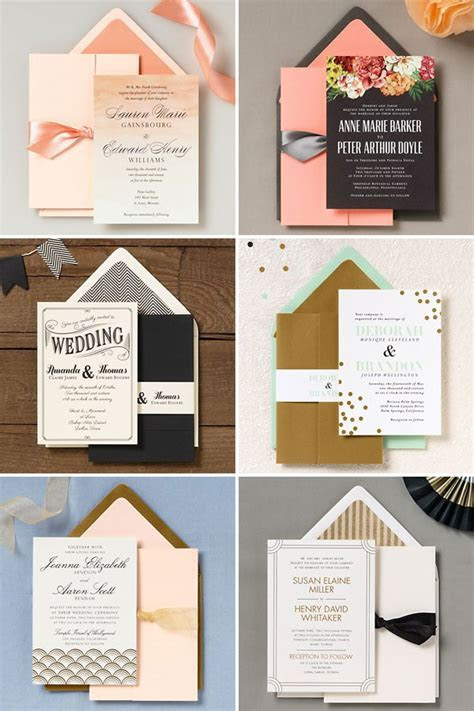 Paper Source 2014 Wedding Invitation Collection