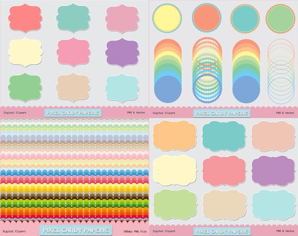 photoshop shapes, custom shapes, photoshop presets, photo shop, digital design, doodle frames, scalloped borders, scalloped circle, mat, scrapbooking mat, scrap booking, digiscrap, digital scrapbooking