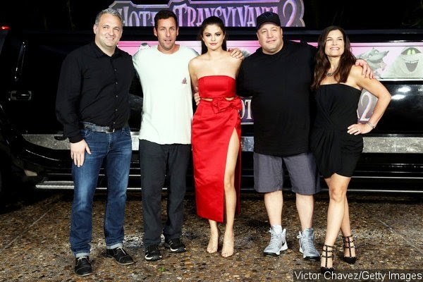 Hotel Transylvania 2 images: Selena Gomez Is Red Hot At ...