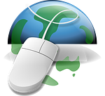 Mouse, Globe, World Map, Symbol, Www