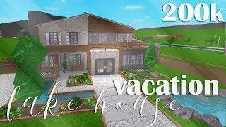 Roblox Welcome To Bloxburg Vacation Lake House 200k - 200k house bloxburg roblox how to build