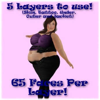 life marketplace fat fitted body