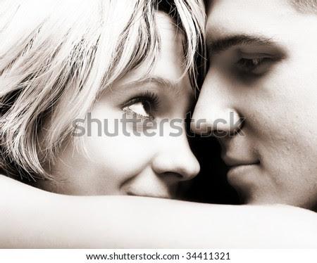 Happy Couple in Love - stock photo