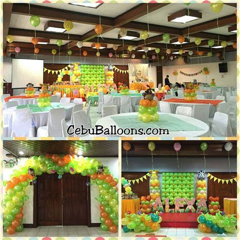 Bongga Decor Packages   Cebu Balloons and Party Supplies