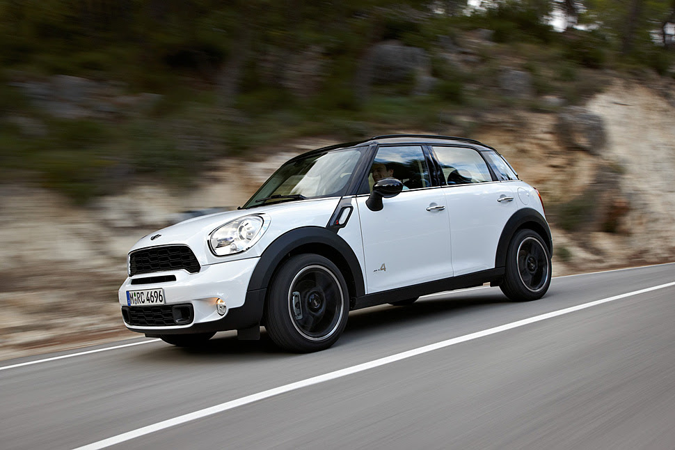 2011 Mini Cooper S Countryman All4 Crossover Review