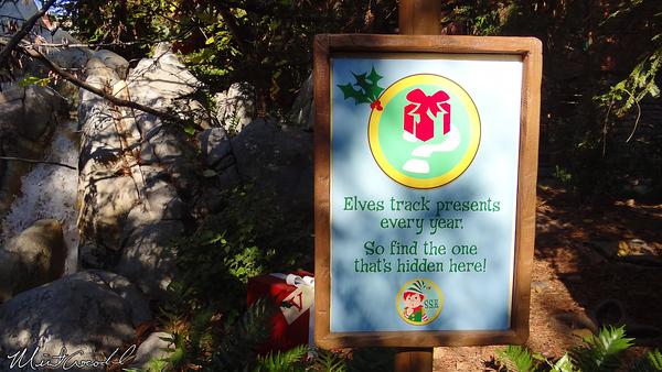 Disneyland Resort, Disney California Adventure, Redwood Creek Challenge Trail, Limited Time Magic, Elf Days, Christmas, Christmas Time