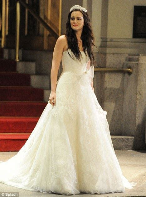 Vera Wang bridesmaid dresses from Gossip Girl's royal