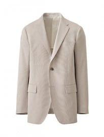 Uniqlo Men Cordlane Jacket Slim Fit