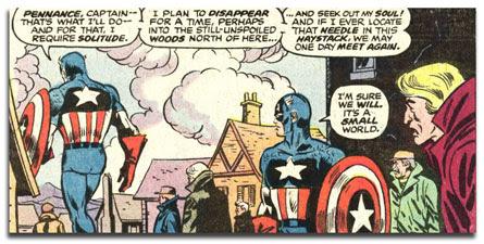 captain america 221 - AMERIDROID is sad!!!!!!