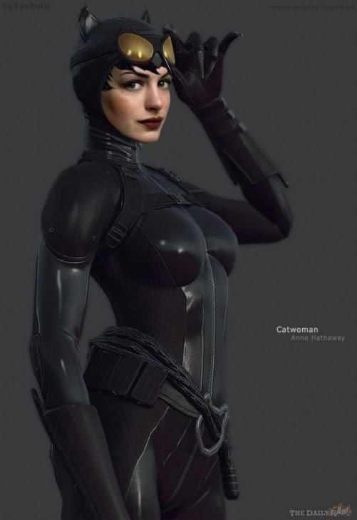 catwoman costume anne hathaway. I found out Ann Hathaway