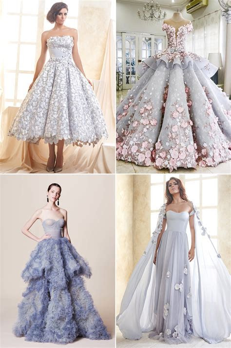 8 Hot Color Trends for Wedding Reception Dresses!   Praise