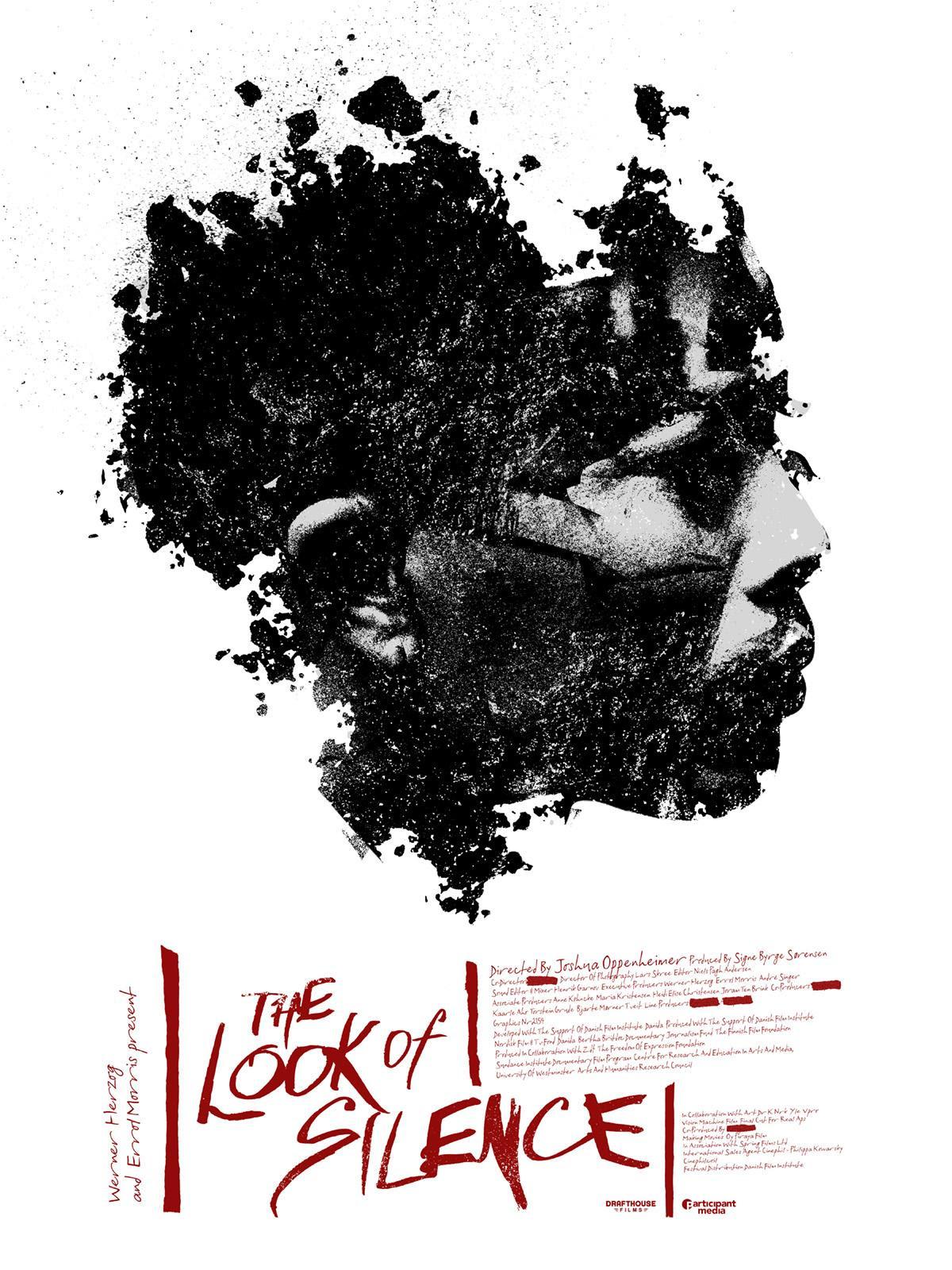 Risultati immagini per the look of silence poster