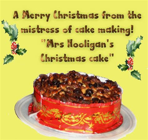 Mrs Hooligan?s Christmas Cake! Free Humor & Pranks eCards