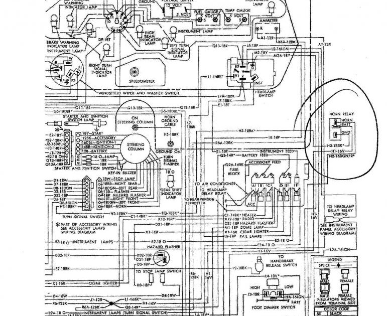 Wiring Diagram For 1968 Plymouth Roadrunner - Complete ...